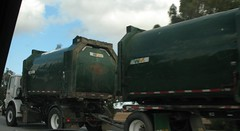 WM Heil POD bodies in transit (WX64 chassis) (Scott (tm242)) Tags: california ca trash truck garbage pod body transport wm system management oceanside transit trailer waste refuse transfer recycling residential bodies fwd landfill heil
