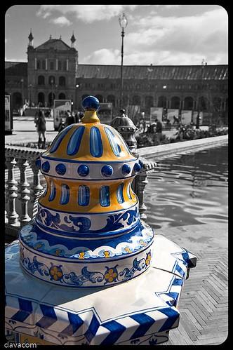 Azulejería estilo Sevillano