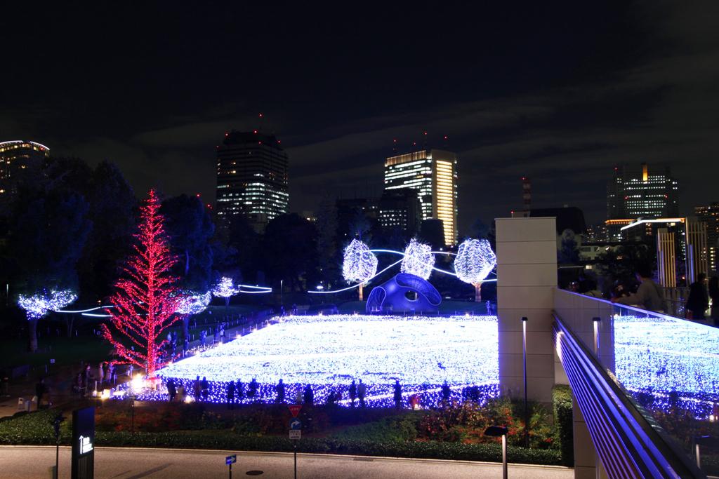 Tokyo-midtown Xmas illumination 2010 (1)