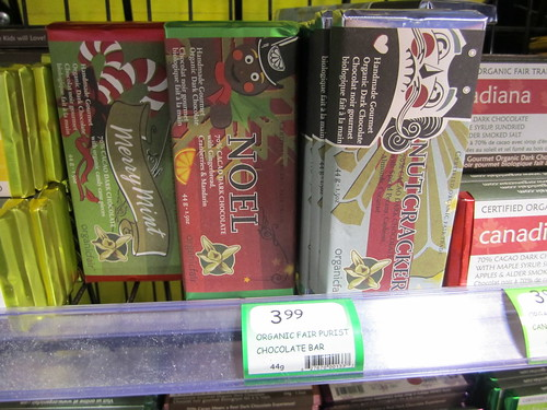 OrganicFair Bars - Holiday Flavours