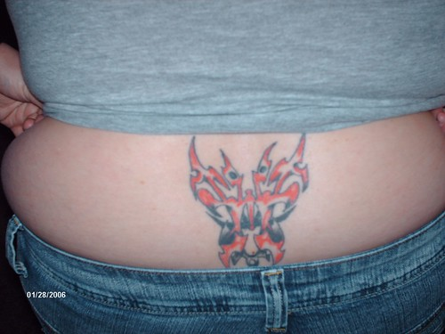 Tribal Tattoo Tramp Stamp. My Tribal Butterfly Tramp