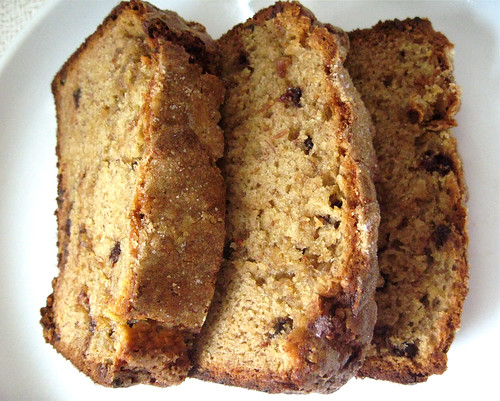 Peanut Butter Mini Chip Banana Bread
