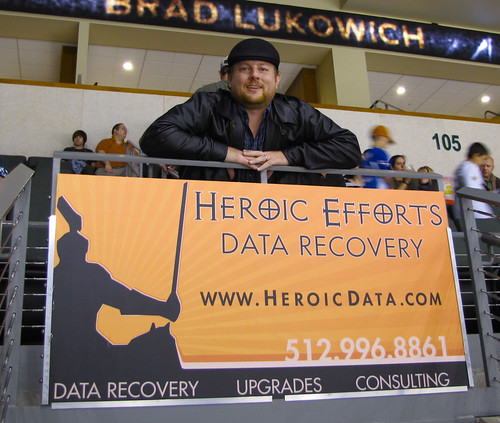 Heroic Effort's Sign in the Cedar Park Center