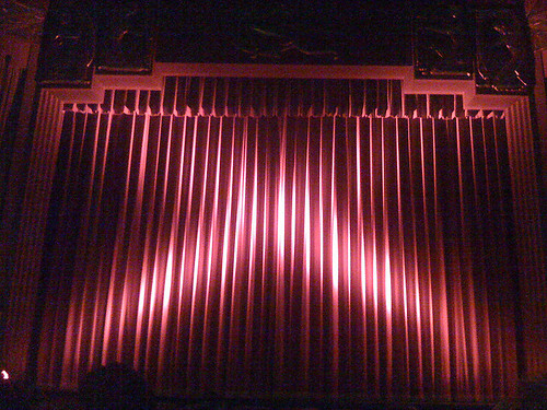 movie theater curtain