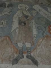 Sw. Jakub - fresk w klasztornym oratorium