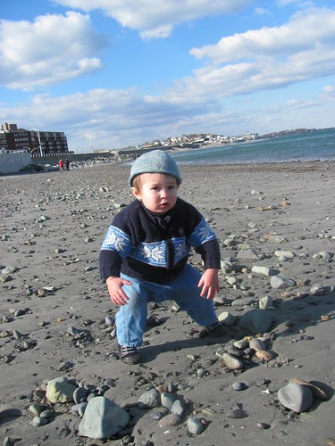 Ben at Nantasket Beach