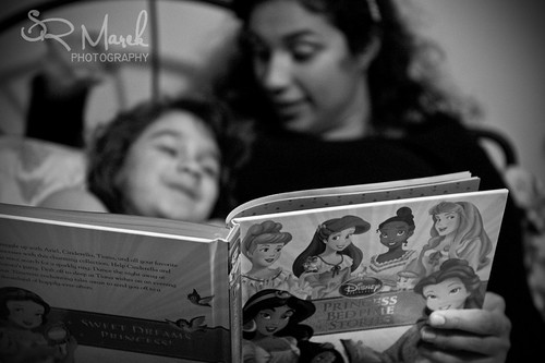Point of view bedtime story