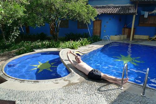 Hotel Pool - Vilcabamba, Ecuador