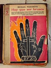 """Hay que ser brusco"". Sin firma, posible portada de Manolo Prieto (obaku estudio) Tags: 1940 ilustracin manoloprieto diseogrficoantiguo"