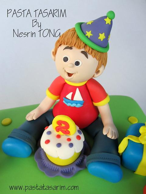EMIR 2ND BIRTHDAY CAKE -  emir