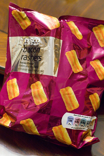Bacon rashers bag