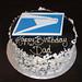 Postal Logo Cake