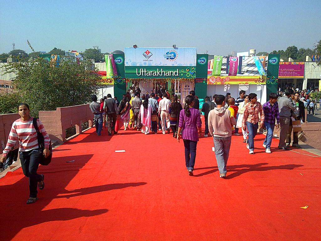 Uttarakhand Pavillion, India International Trade Fair 2010 at Pragati Maidan, New Delhi