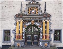 Door to the Town Hall / Rathaustür (Runemaker) Tags: door doorway tür rathaus townhall cityhall hannmünden niedersachsen lowersaxony germany deutschland