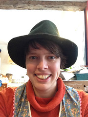 funny hat (elizajanecurtis) Tags: eliza sillyhat
