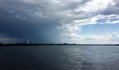 Another Day, Another Shower in the offing (Fil.Al) Tags: clouds ottawariver showers