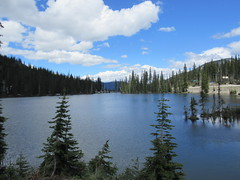 Bridal Lake (trilliumgirl) Tags: bc british columbia canada kootenay summit lake water altitude