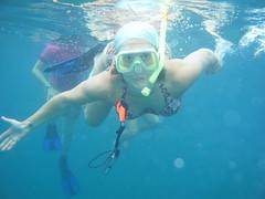 Betsie snorkeling