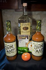 Opal Divine's Mary Mix and Tito Vodka by John Knox on Flickr