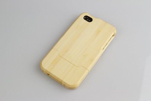 Grove iPhone4 Bamboo Case