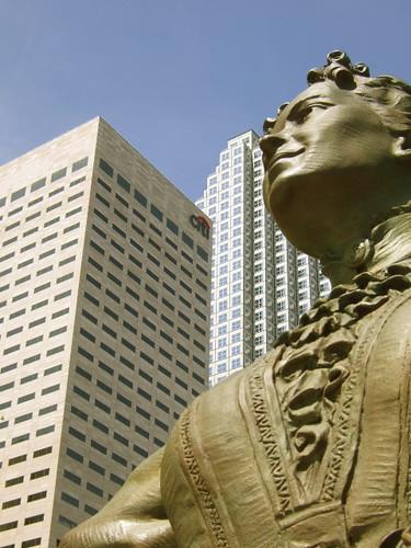 julia tuttle statue miami bayfront park