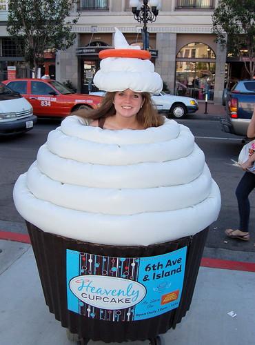 Comic Con 2010: Heavenly Cupcake