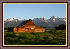 Moulton Barn - Mormon Row (feltonbeasley) Tags: usa wyoming grandtetonnationalpark mormonrow moultonbarns