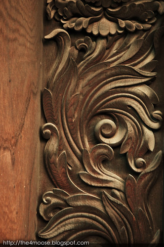 Nishi-Hongan-ji Temple 西本願寺 - Wood Carving