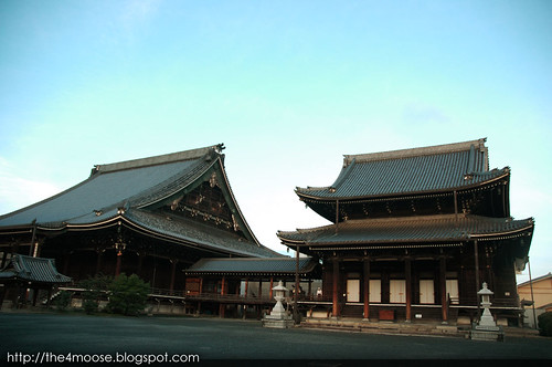 Nishi-Hongan-ji Temple 西本願寺 - Temple Grounds