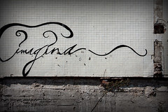 imagina (greenicadesign) Tags: barcelona typography graffiti imagina