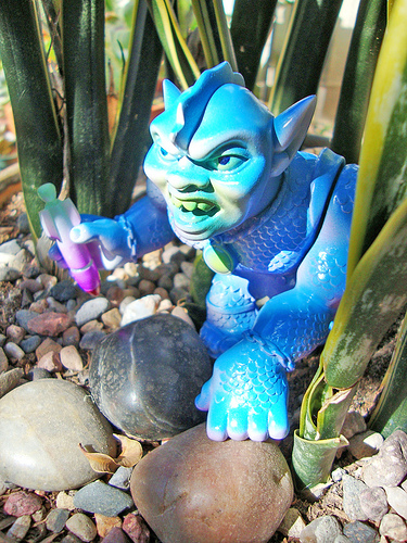Paul Kaiju custom Brand Loyalty toys