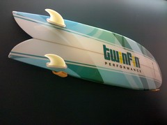 The TwinFin Surf Board