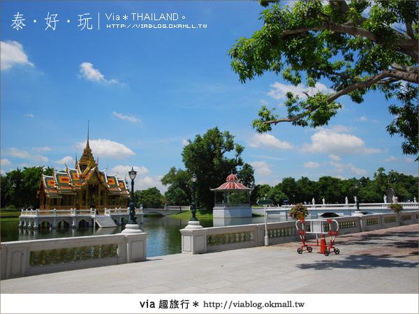 【泰國旅遊】大城之旅|泰皇的渡假聖堂~芭茵夏宮12