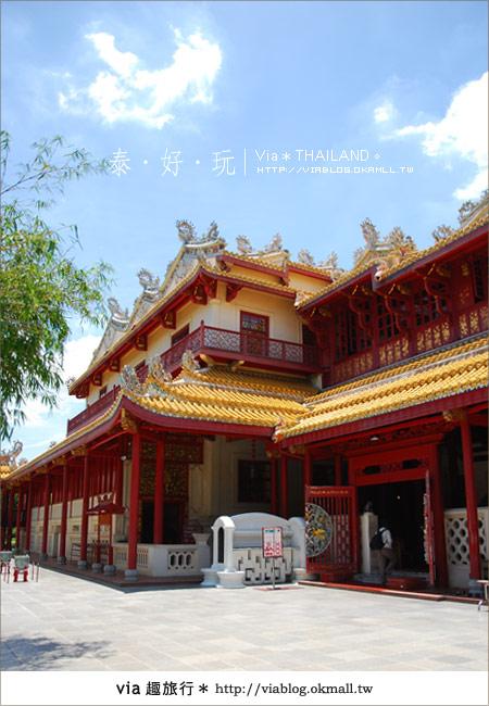 【泰國旅遊】大城之旅|泰皇的渡假聖堂~芭茵夏宮41