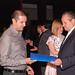 Oswaldo Gutierrez Ramon feliz de recibir su certificado como interprete del idioma ingles