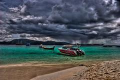 Storm Approaching Paradise - Coral Island, Phuket, Thailand