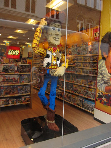 Woody in Strøget
