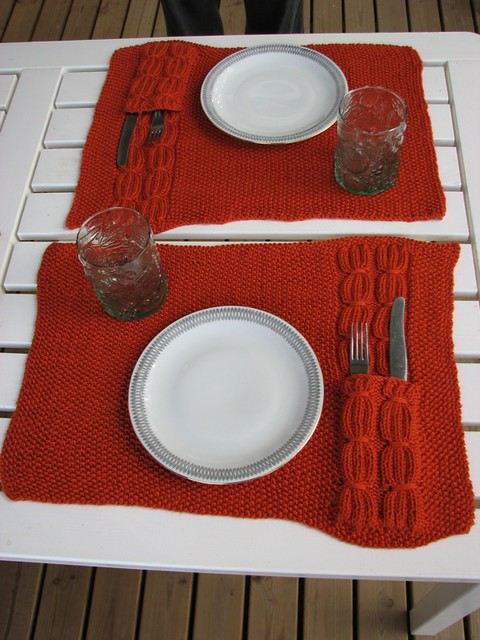 Placemat and Napkin Ring