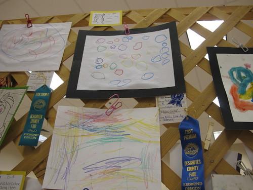 Peelu's Crayon Fair Entry