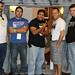 Nathan Bybee, Paul Gonzales, George Ortiz, Carlo Rodriguez, & James Christopher at Horrific Film Fest 2010