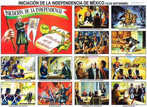 Iniciación de la Independencia de México 16 de septiembre