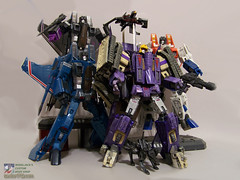 Blitzwing_44 (Wheel_Jack) Tags: tank jet transformers g1 mp custom masterpiece decepticon starscream kitbash wheeljack foxbat blitzwing wheeljacks70