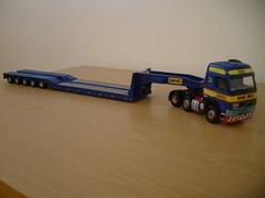 Banks Bro's volvo Fh12 (Scottish Truck Driver) Tags: 3 scale modern truck volvo code corgi model mining bros banks lowloader 50uk