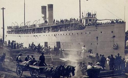 SS Eastland docked