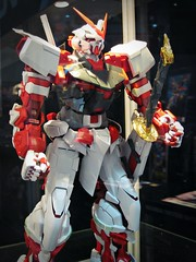 Gundam Fiesta Singapore 2010 (nighteye) Tags: red singapore fiesta frame gundam 2010 astray