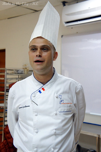 Chef Guillaume Lejuene