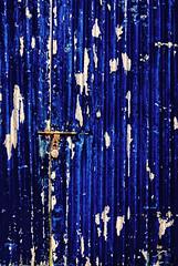 Blue Door in Blue (Prabhu B Doss) Tags: door blue metal nikon rust scrap d80 prabhub prabhubdoss zerommphotography 0mmphotography