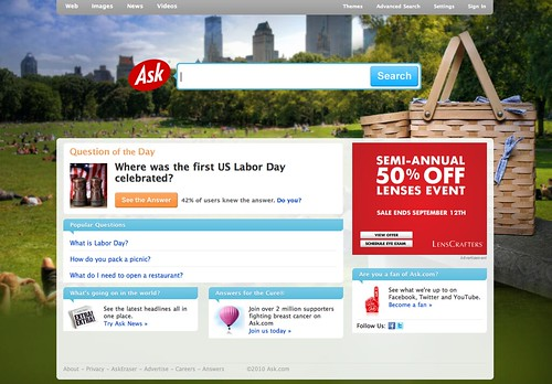 Ask.com Labor Day