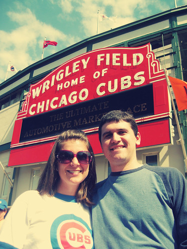 The Gainor's at Wrigley Field