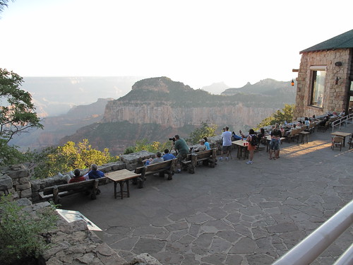 View deck - Grand Canyon Lodge North Rim